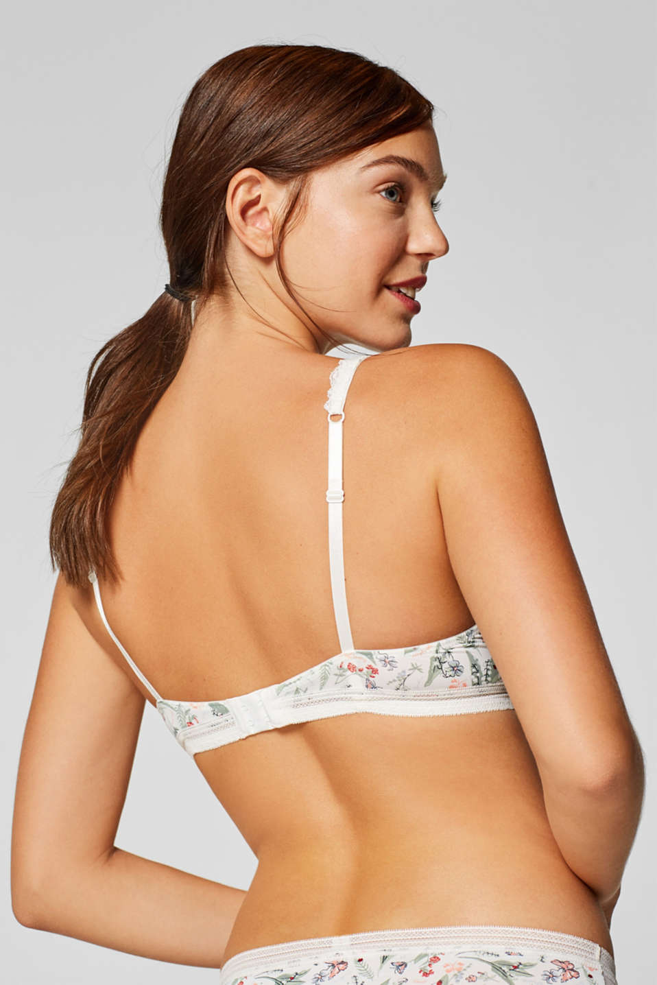 Bras with wire, OFF WHITE, detail image number 1