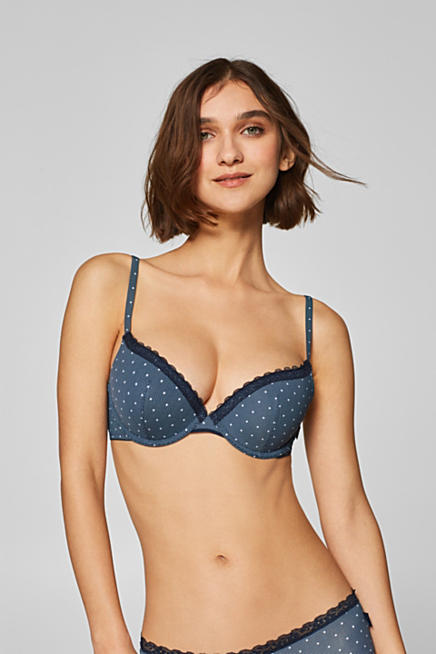 717f0bffadadd Push-up bra with a print and multi-way straps