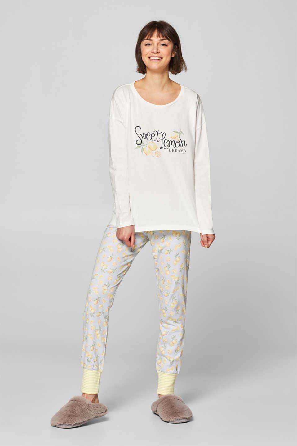 5a53c68dc9a1 Esprit - Printed jersey pyjamas