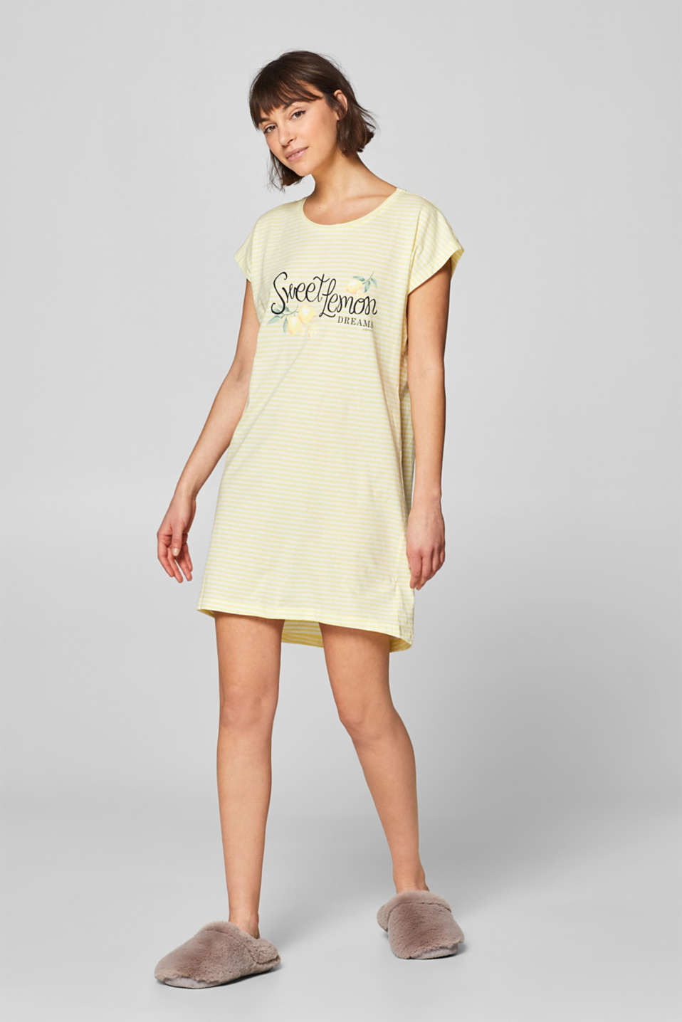 85f2ea6568 Esprit - Jersey nightshirt with a print