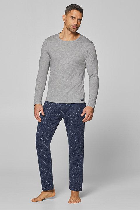 Simple pyjamas in comfortable jersey