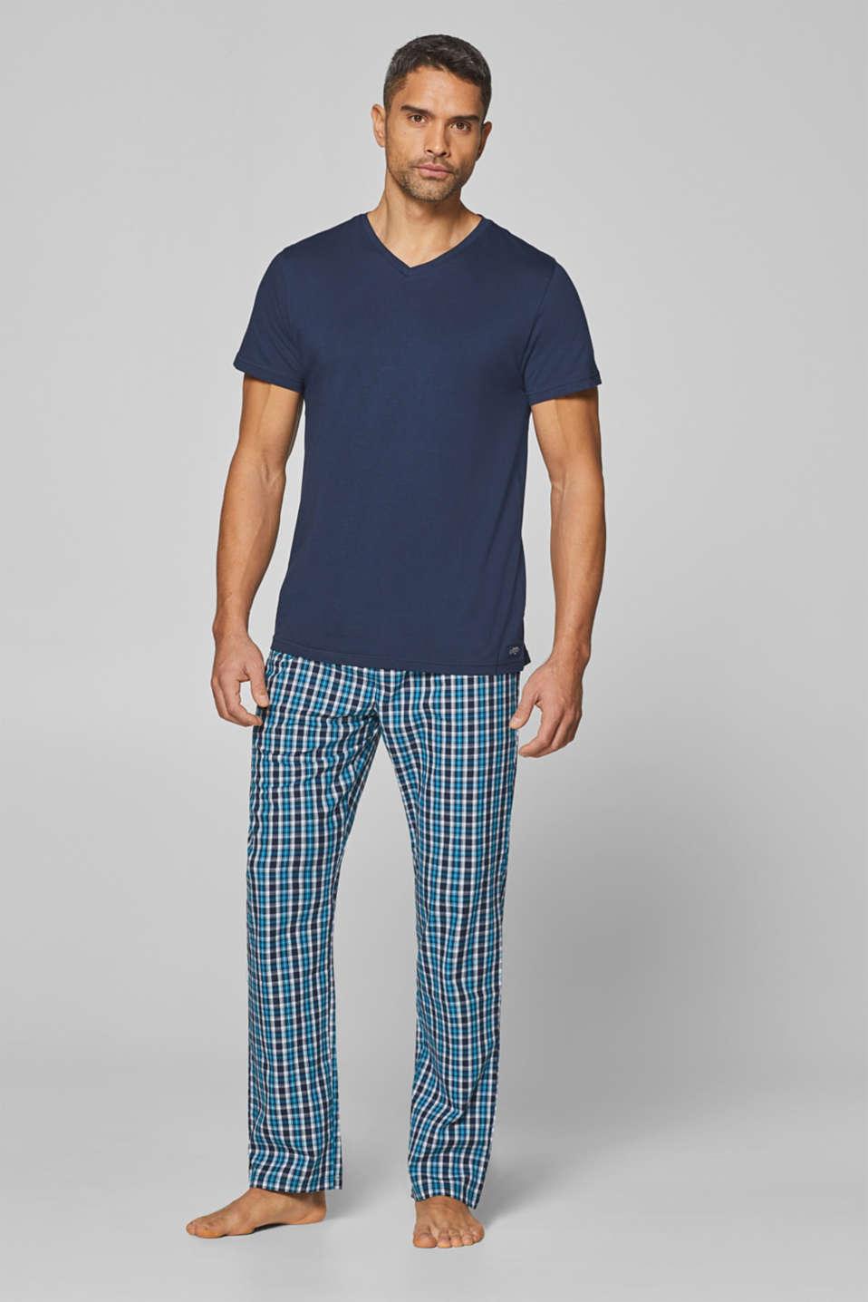 Night-T-Shirts, NAVY, detail image number 0