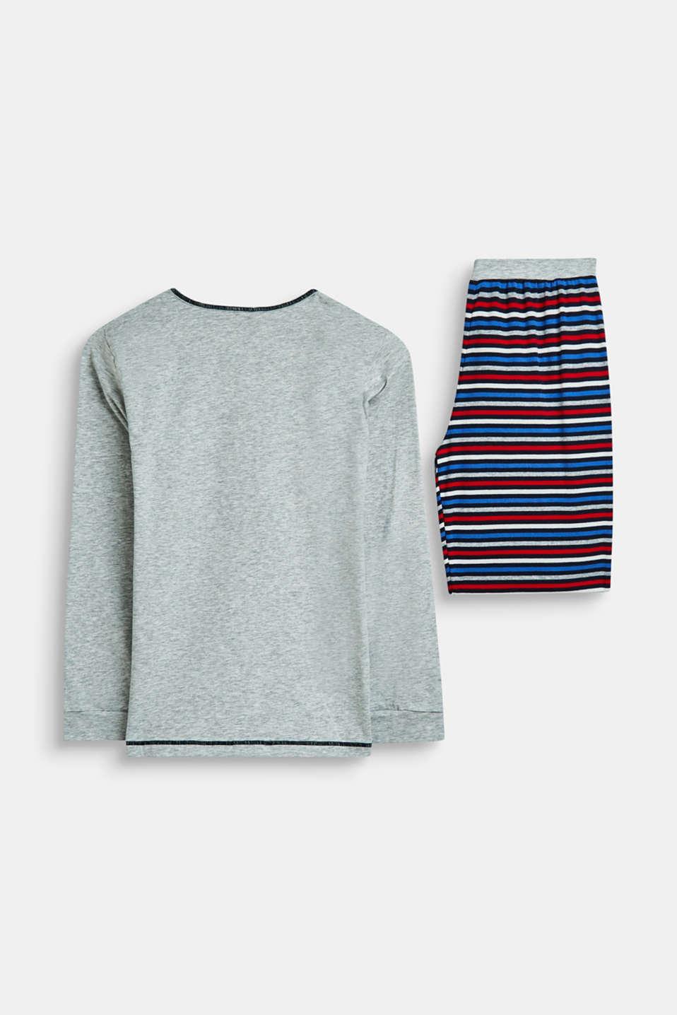 Pyjamas, LIGHT GREY, detail image number 1