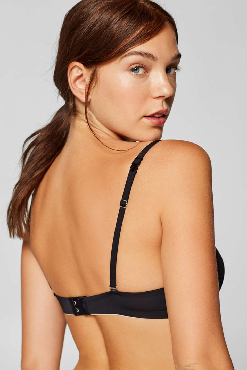 Bras with wire, BLACK, detail image number 1