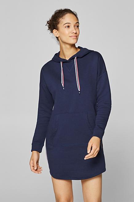 5208df8e8031 Sweatshirt-Kleid mit applizierten Webbändern