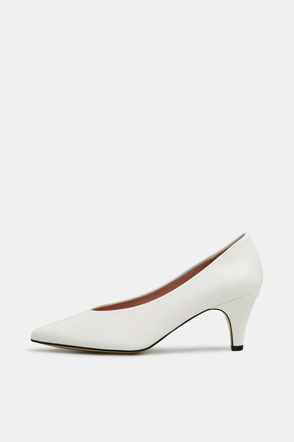 Esprit - Faux leather court shoes