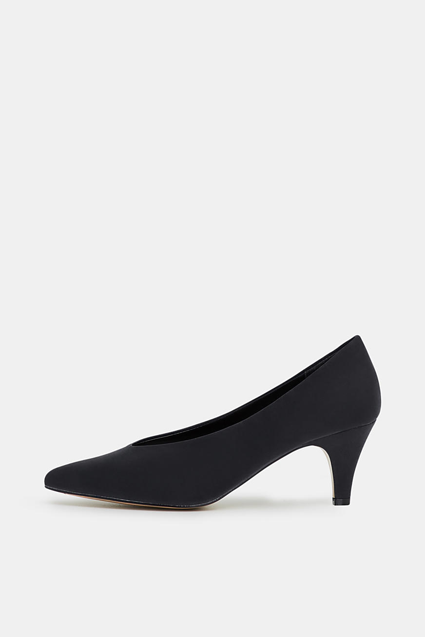 Pumps i nubuck-look