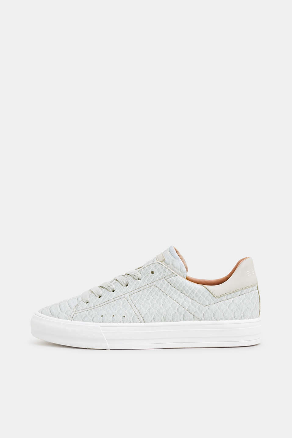 Esprit - Vetersneakers in reptielenlook