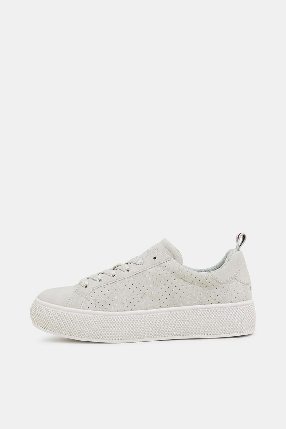 Esprit - Sneakers con plateau in similpelle nabuk