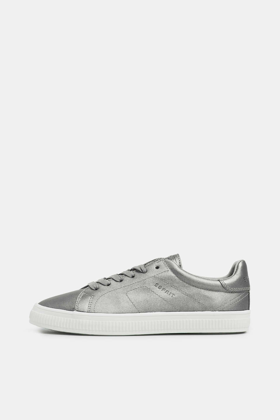 Esprit - Sneakers in leerlook