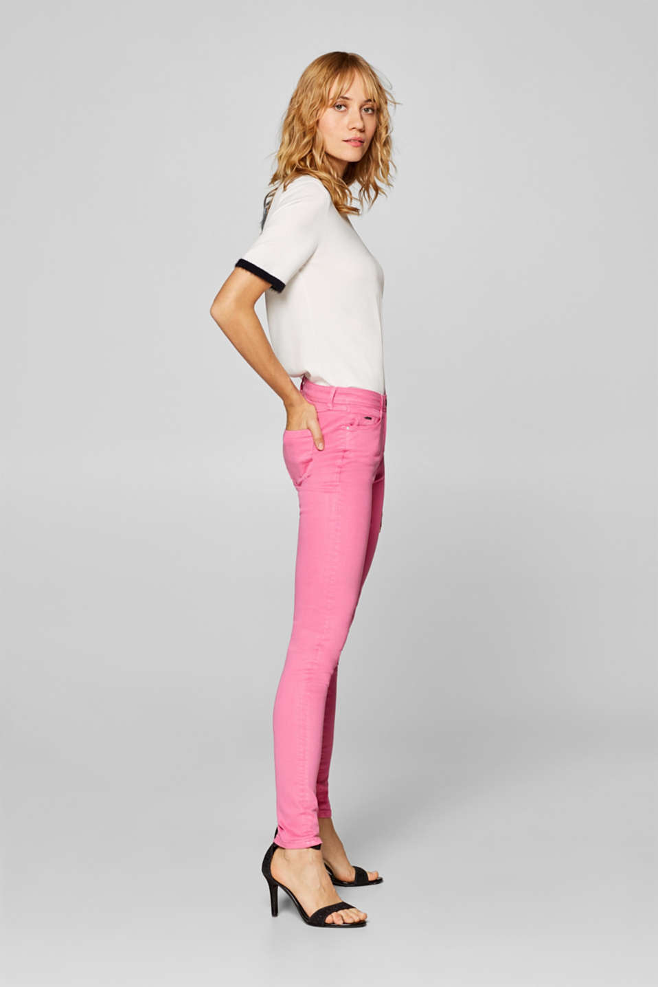 Esprit - Shaping jeans with 4-way stretch