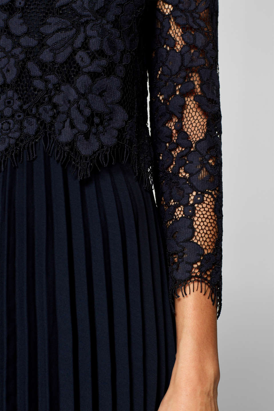 Dresses light woven, NAVY, detail image number 3