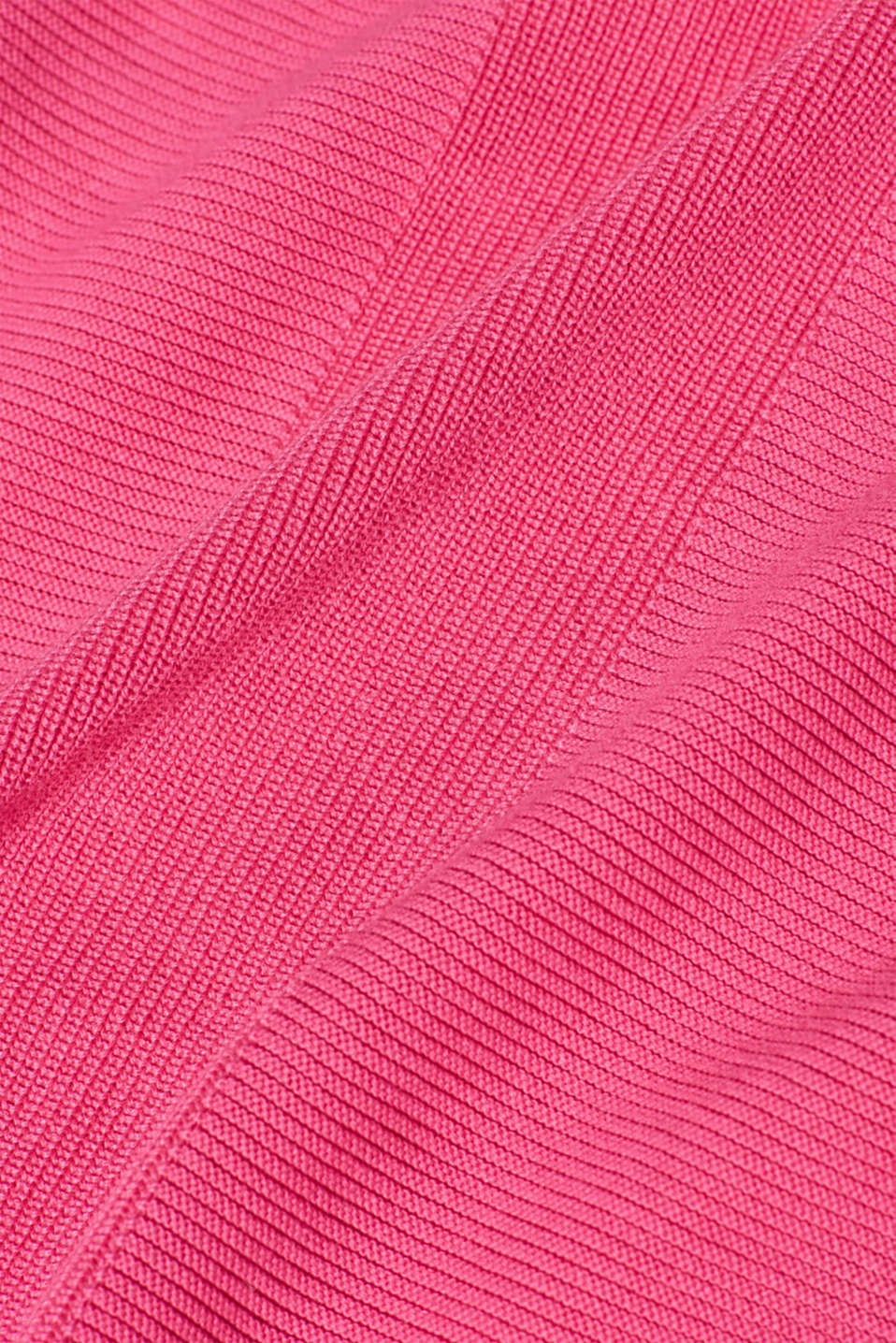Sweaters, PINK FUCHSIA, detail image number 4