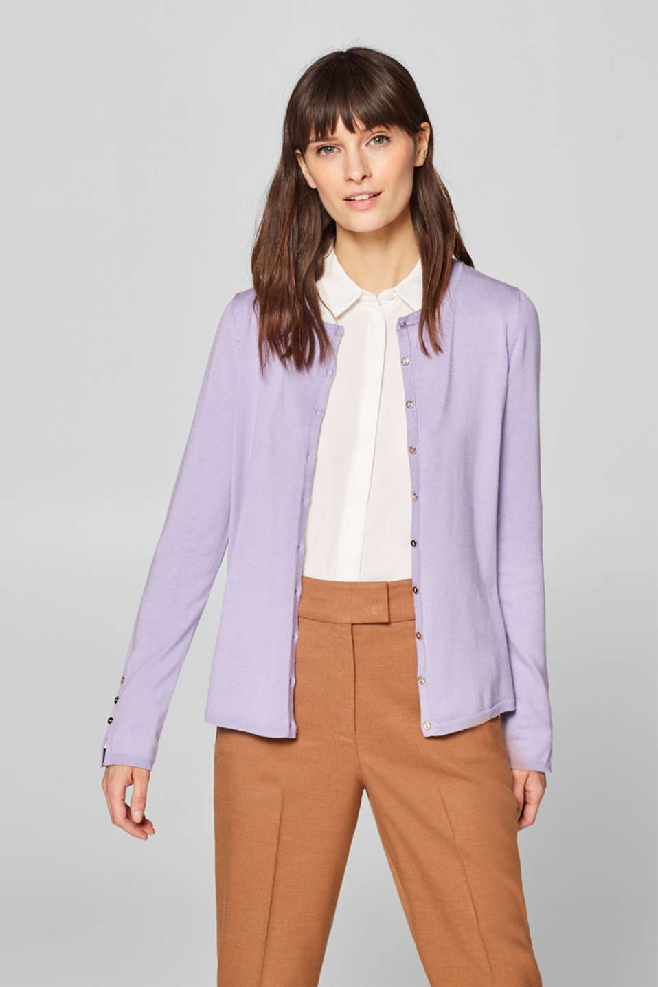 Esprit - Cardigan with button details