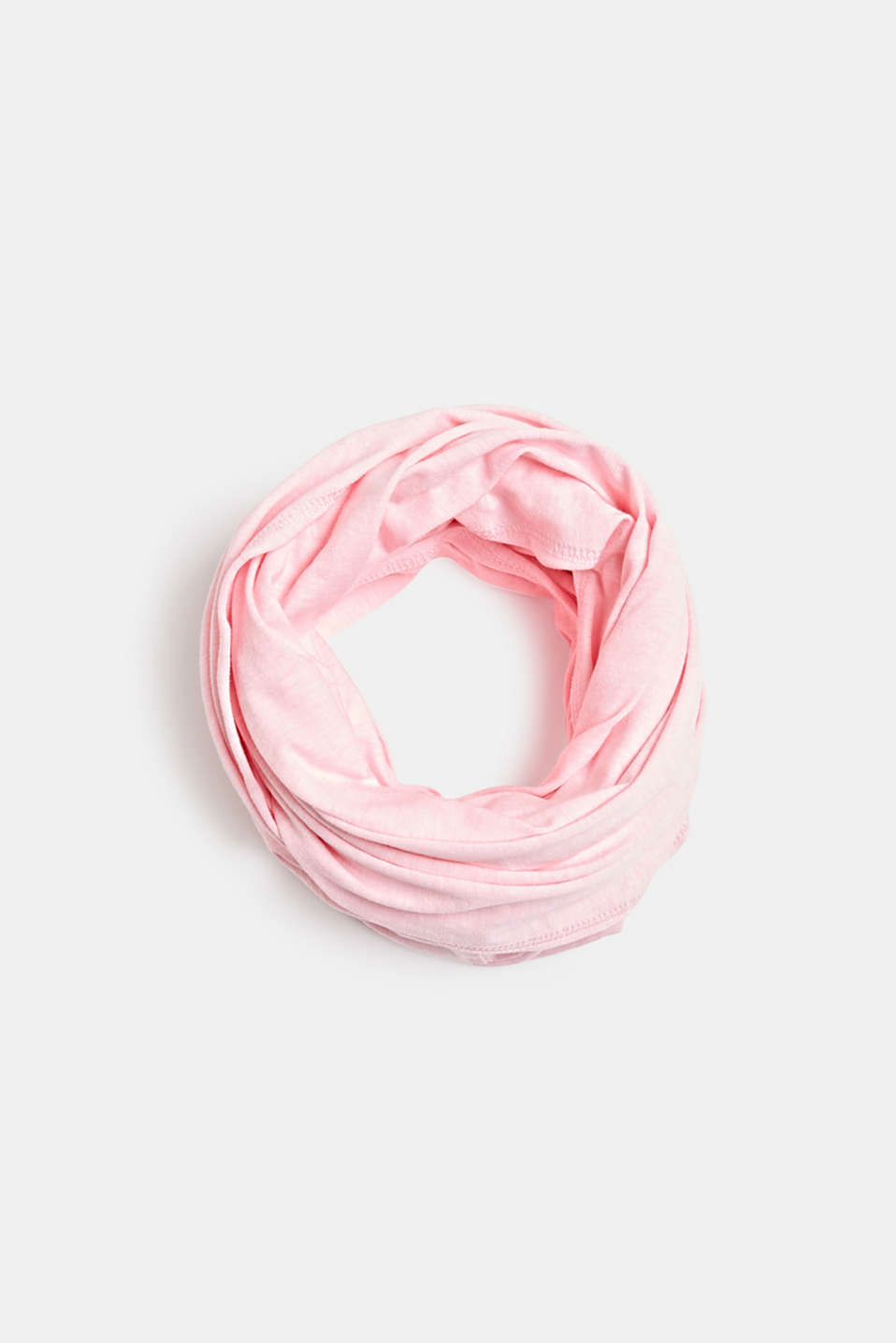 Blended cotton snood, OLD PINK, detail image number 0
