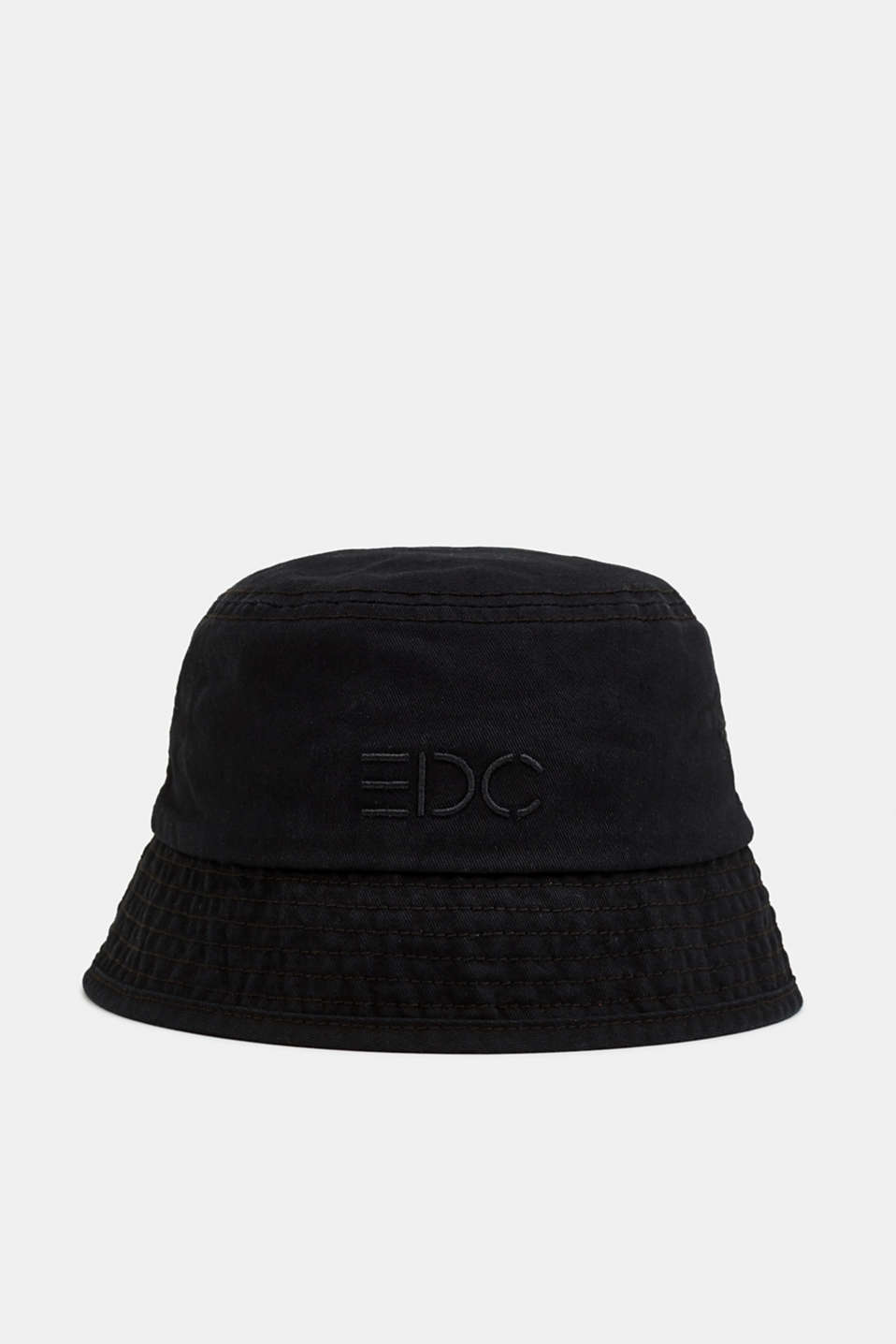 edc - Bucket hat made of 100% cotton