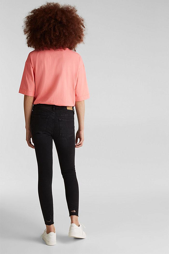 Superstretch-Jeans im Used-Look, BLACK DARK WASHED, detail image number 3