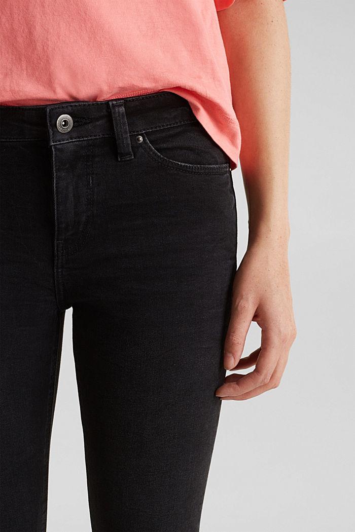 Superstretch-Jeans im Used-Look, BLACK DARK WASHED, detail image number 2