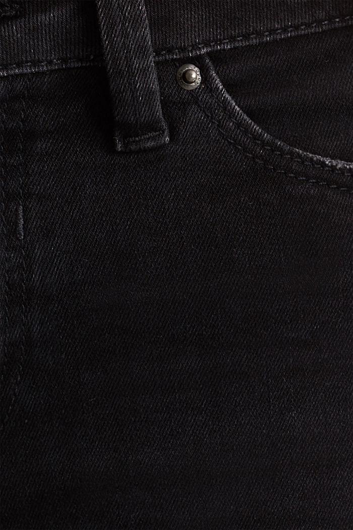 Superstretch-Jeans im Used-Look, BLACK DARK WASHED, detail image number 4