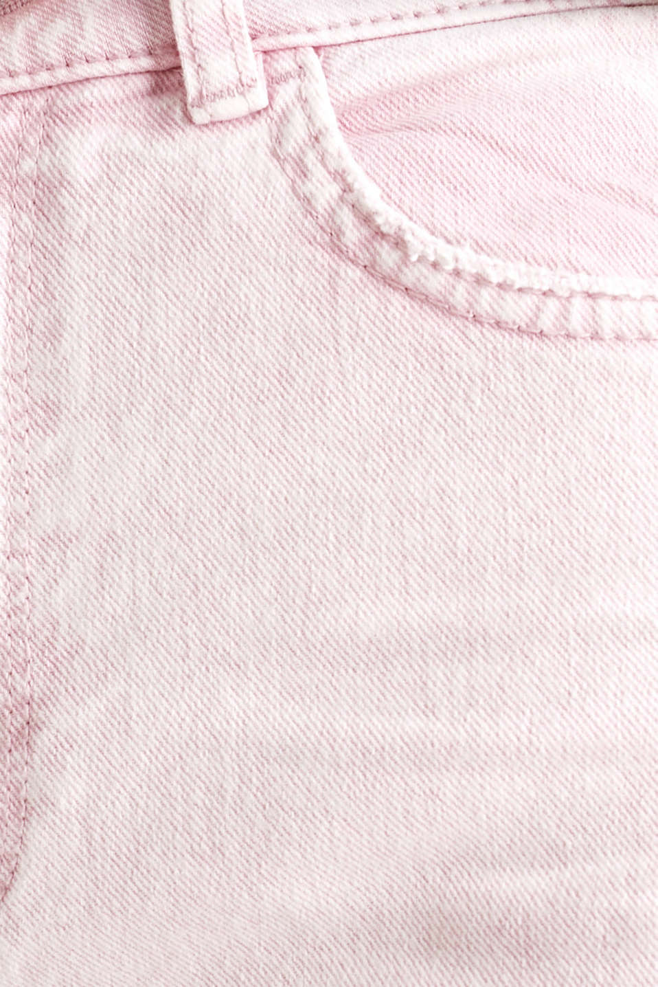 High-rise vintage wash trousers, BLUSH, detail image number 4