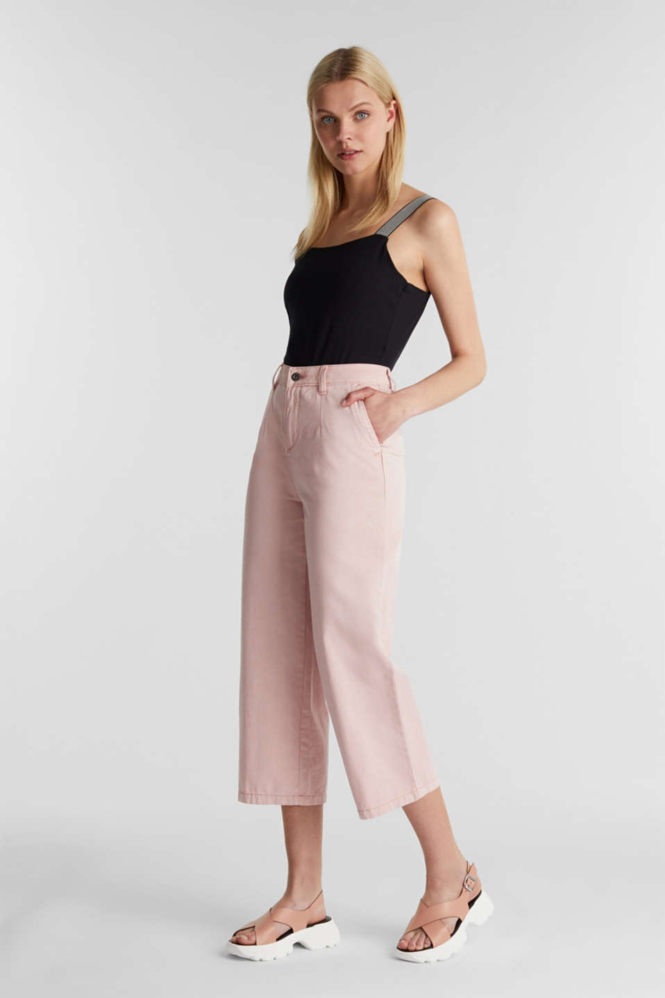 Trousers, BLUSH, detail image number 1