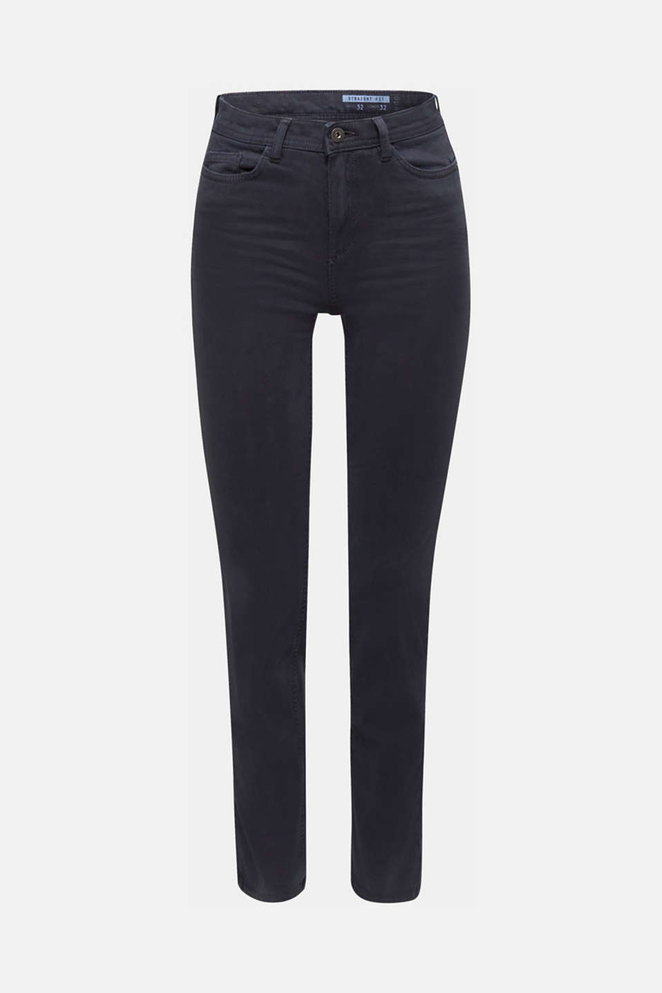 Washed-effect stretch trousers, NAVY, detail image number 7