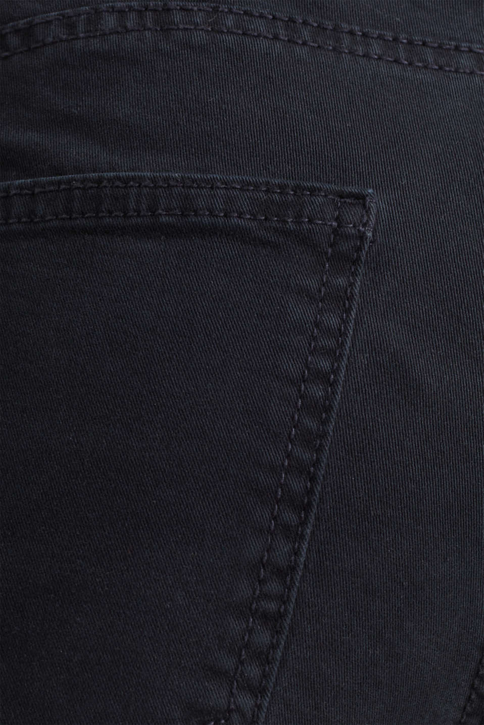 Washed-effect stretch trousers, NAVY, detail image number 4