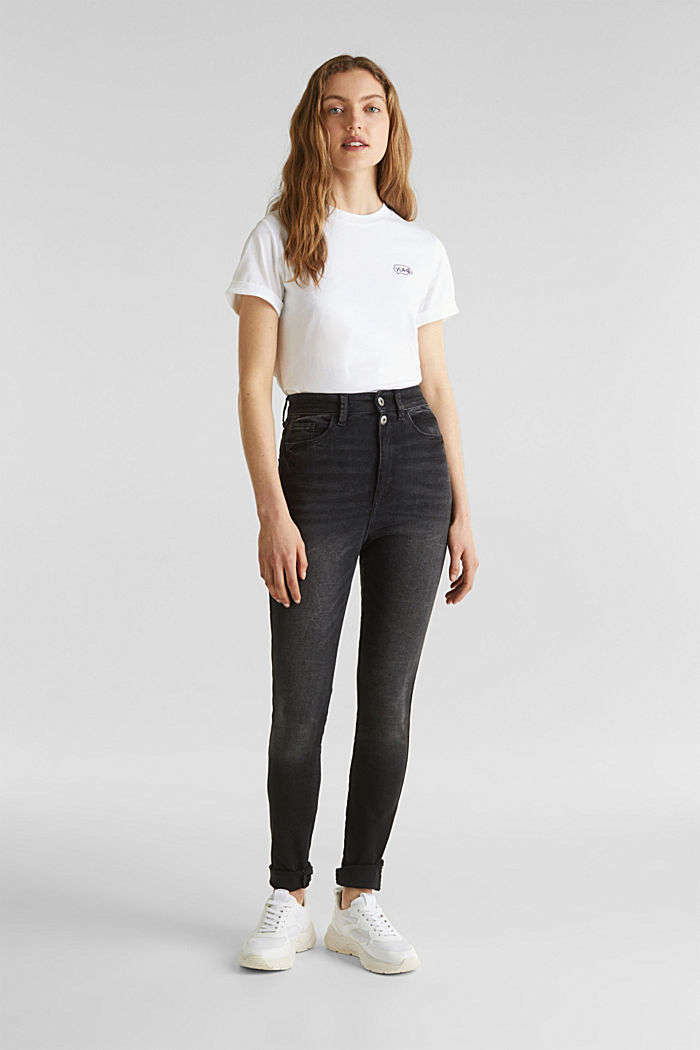 Double button jeans