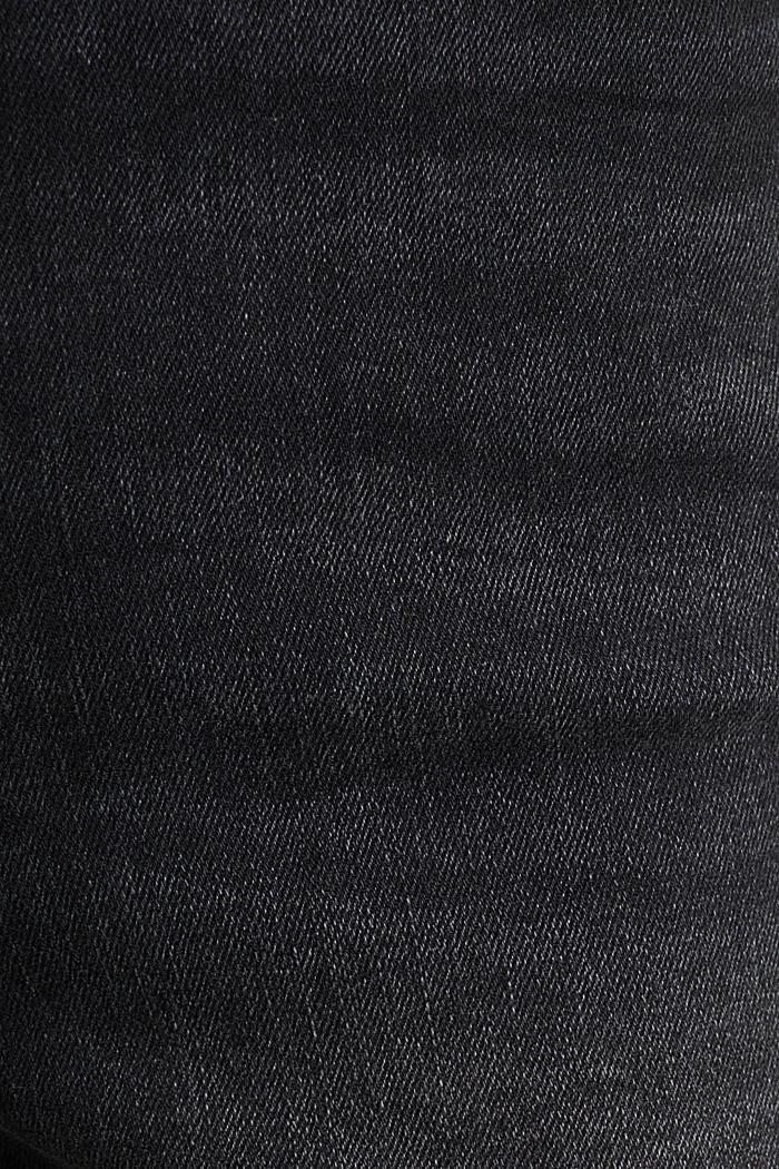 Jeans mit Doppelknopf, BLACK DARK WASHED, detail image number 4