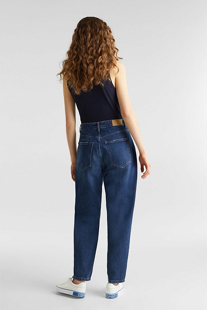 Trend-Jeans mit Bundfalte und TENCEL™, BLUE MEDIUM WASHED, detail image number 2