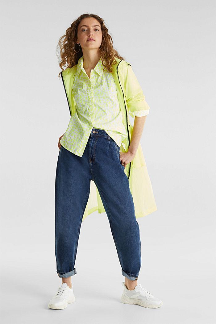 Trend-Jeans mit Bundfalte und TENCEL™, BLUE MEDIUM WASHED, detail image number 5
