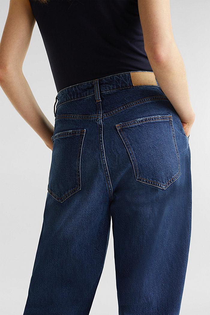 Trend-Jeans mit Bundfalte und TENCEL™, BLUE MEDIUM WASHED, detail image number 4