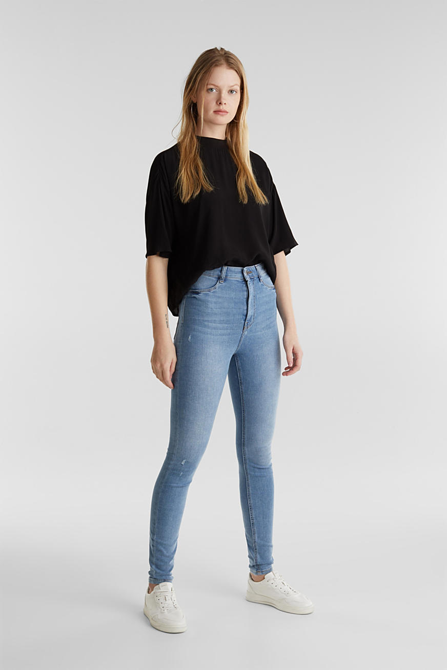 Jeggings au look usé