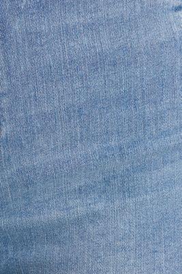 Jeggings with a vintage finish, BLUE LIGHT WASH, detail