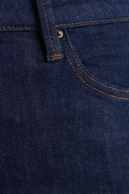basic, ankle-length jeans, BLUE RINSE, detail