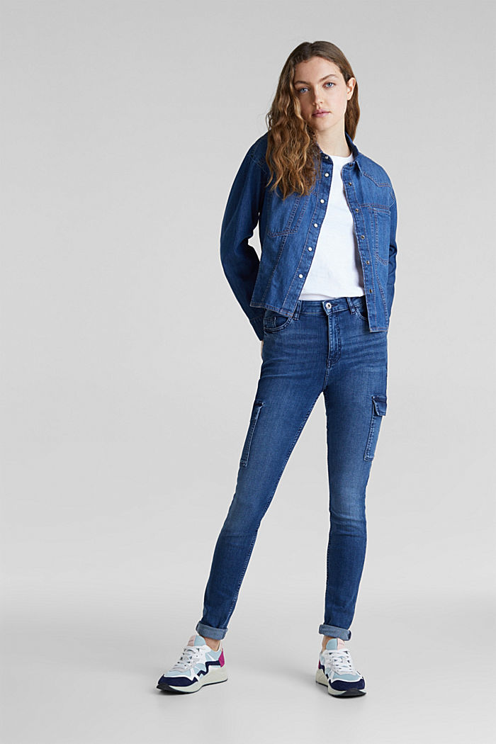 Exceptionally soft cargo denim