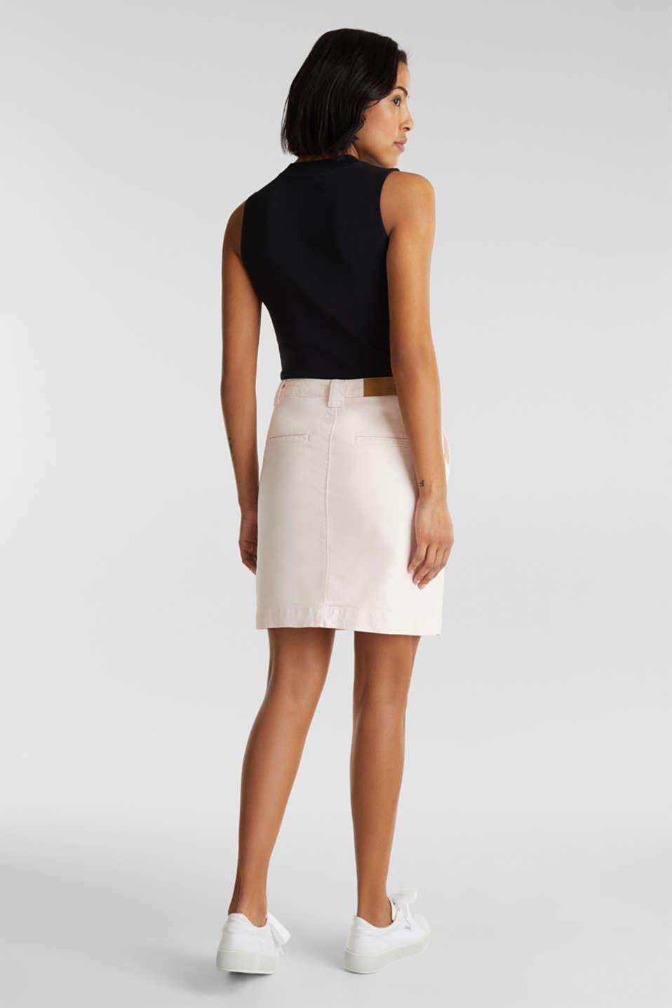 Denim skirt with pockets, PINK, detail image number 2