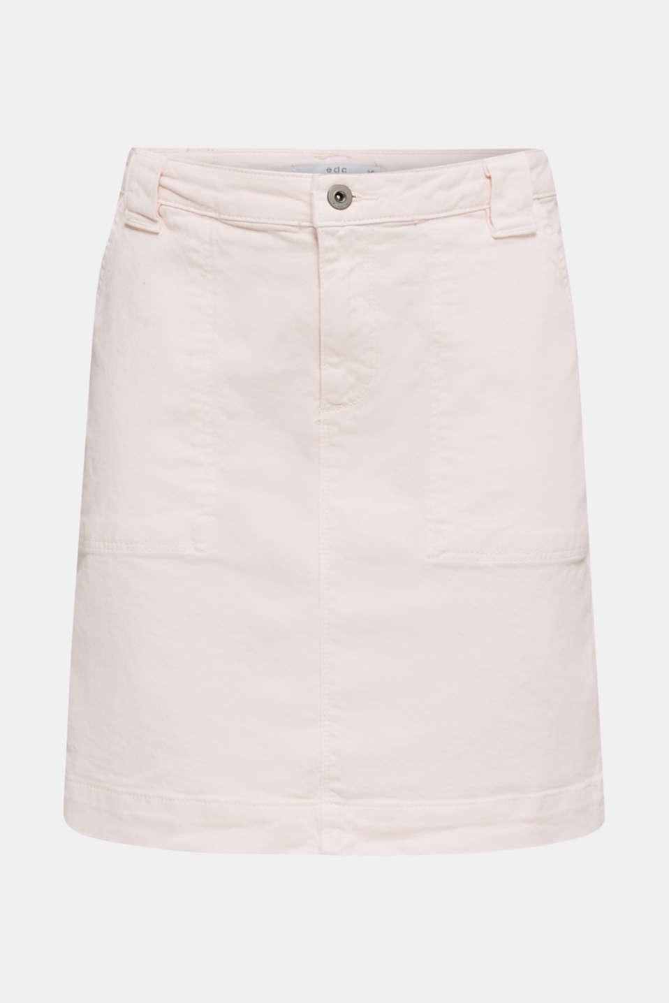 Denim skirt with pockets, PINK, detail image number 5