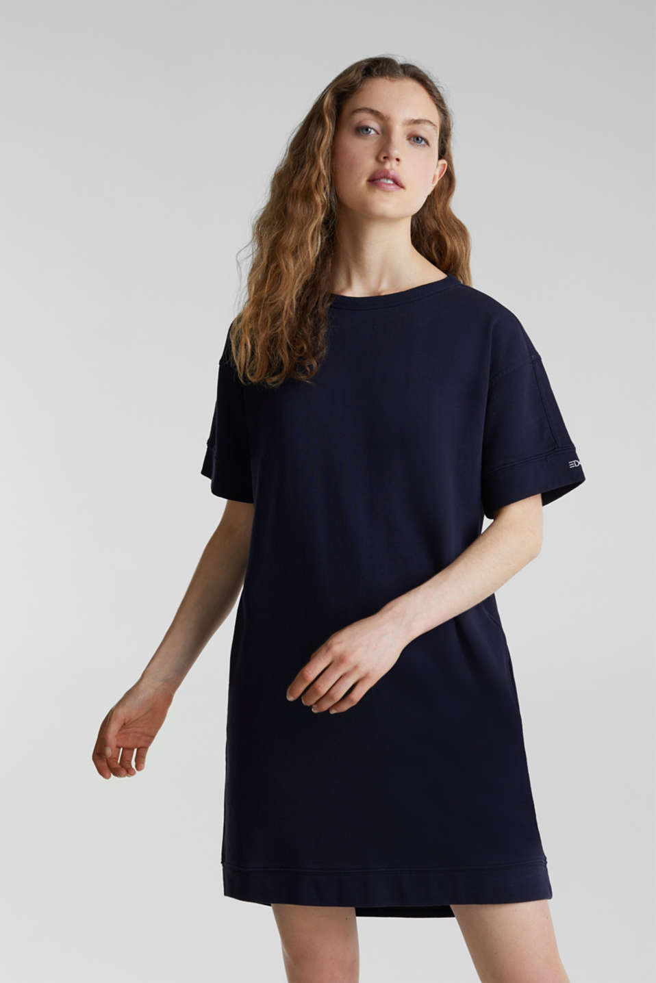 Dresses knitted, NAVY, detail image number 0