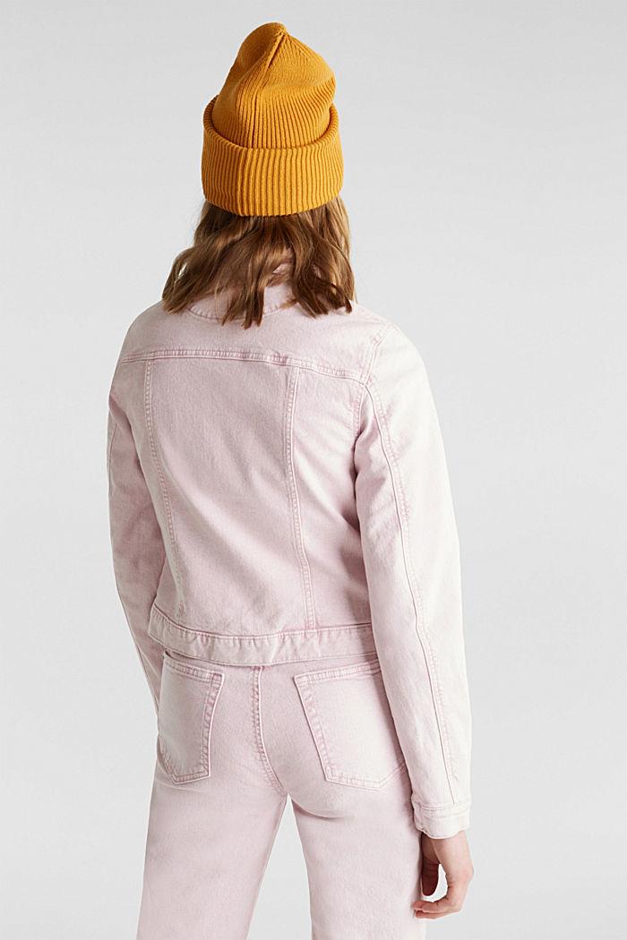 Acid wash jacket, BLUSH, detail image number 3