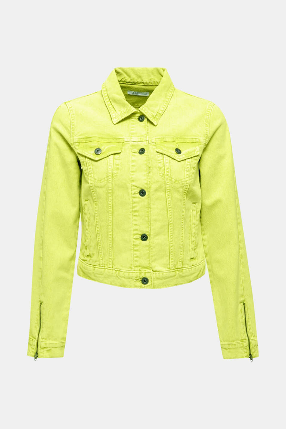 Jackets indoor woven, LIME YELLOW, detail image number 7