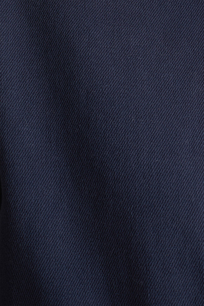 Worker jacket with pockets, 100% cotton, NAVY, detail image number 4