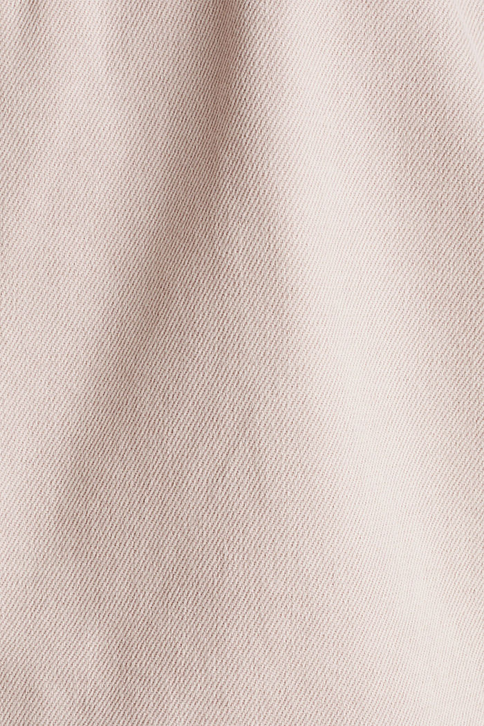 Worker jacket with pockets, 100% cotton, BLUSH, detail image number 4