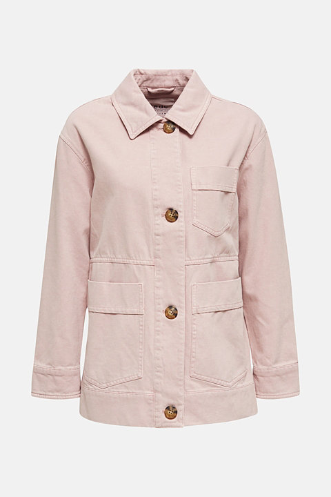 Worker jacket with pockets, 100% cotton