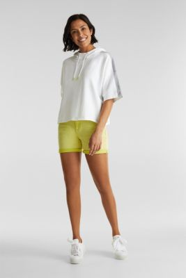 Boxy hoodie jumper with stripes, OFF WHITE 2, detail