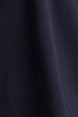 Boxy hoodie jumper with stripes, NAVY 2, detail