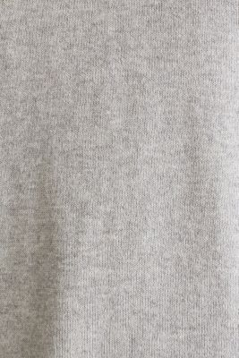 Jumper with multi-colour borders, LIGHT GREY 5, detail