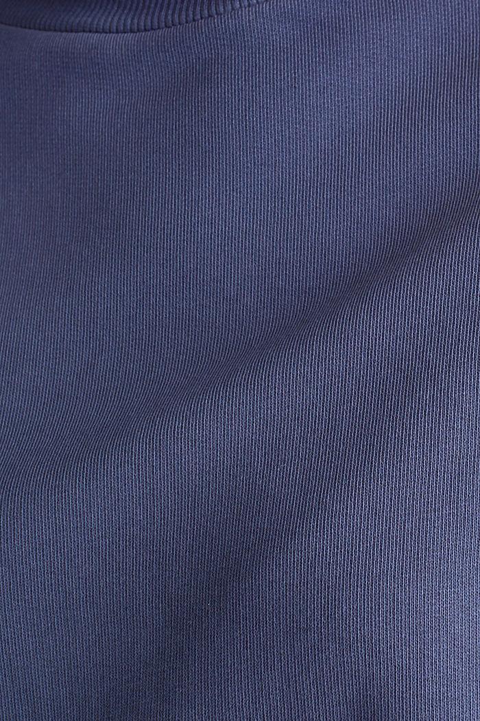 Sweatshirt mit Fledermaus-Ärmeln, 100% Baumwolle, NAVY, detail image number 4