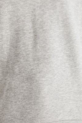 Oversized melange sweatshirt, LIGHT GREY 5, detail
