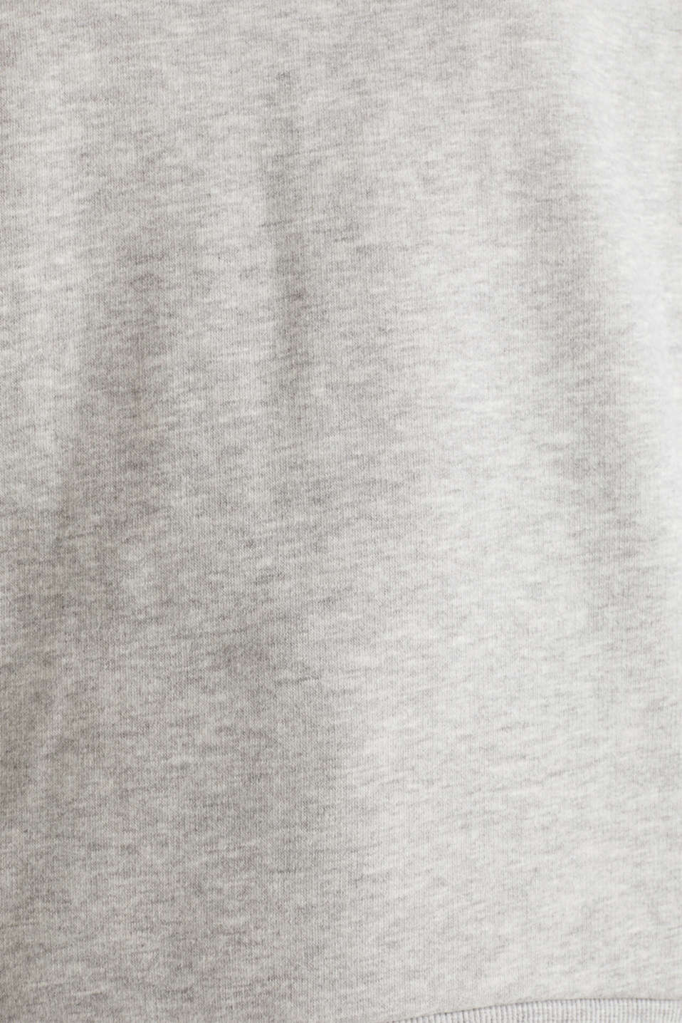 Oversized melange sweatshirt, LIGHT GREY 5, detail image number 3